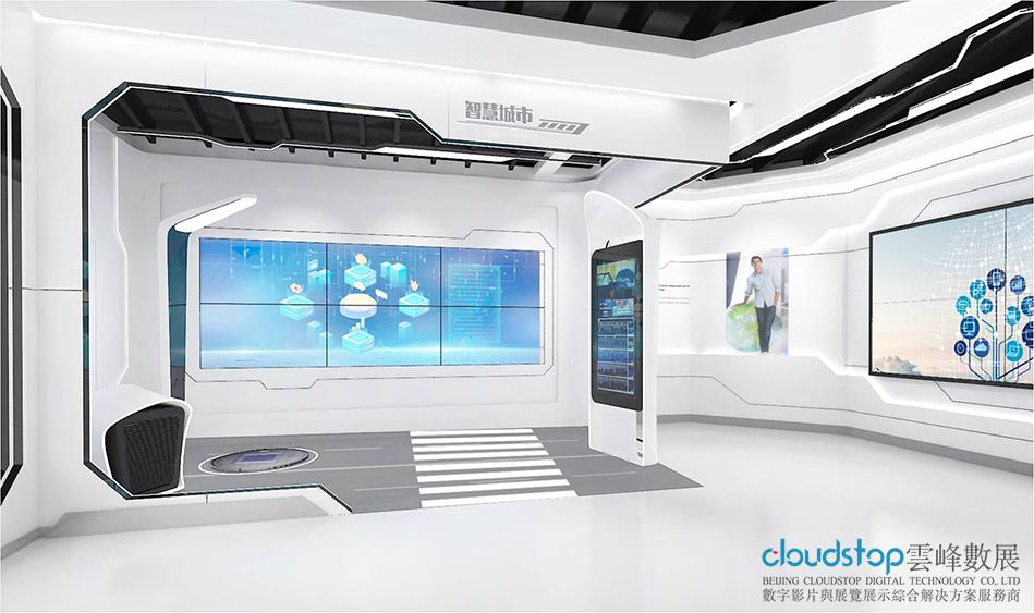 成功的展厅设计,取决于独特的创意