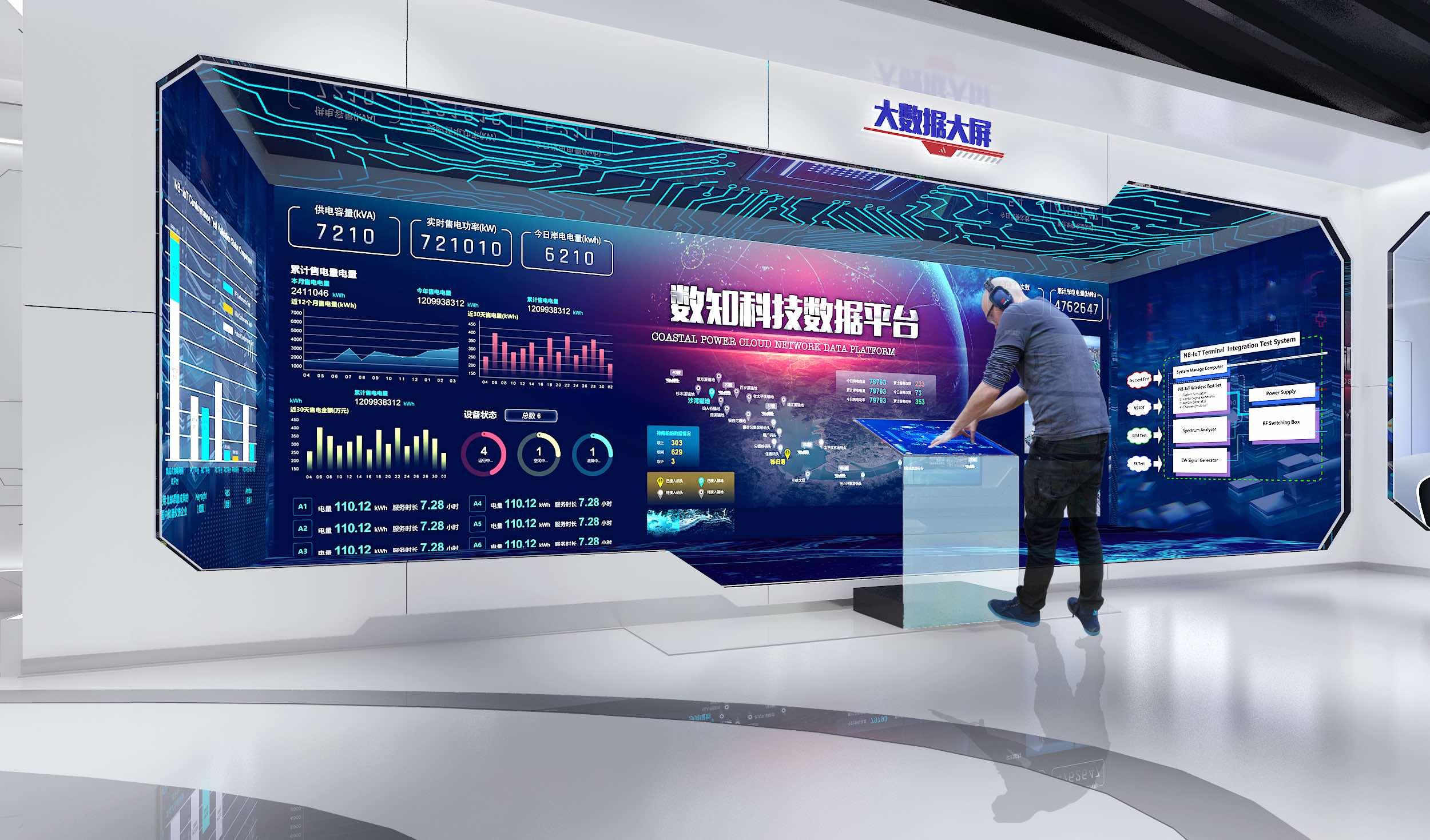 无感电容_数知科技企业AI+大数据展厅__北京云峰数展科技有限公司