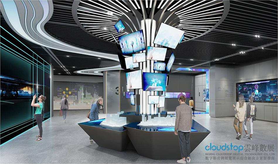 云峰解读:企业展厅设计搭建工艺说明